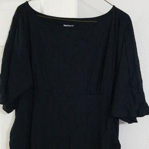 GAP maternity little black dress